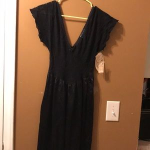 NWT Vintage lace and nylon nightgown
